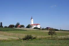 церковь сельская Стоковое Изображение RF