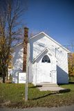церковь сельская Стоковые Фотографии RF