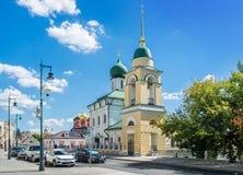 Церковь сентенции благословленное на Varvarka стоковое изображение