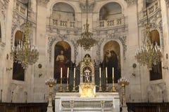 Церковь Сент-Луис Сен-Поль, Париж, Франция Стоковая Фотография