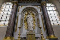 Церковь Сент-Луис Сен-Поль, Париж, Франция Стоковое фото RF