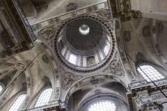 Церковь Сент-Луис Сен-Поль, Париж, Франция Стоковое Фото