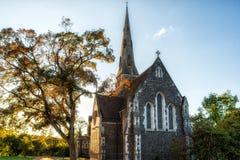 Церковь Сент-Олбанса, Копенгаген, Дания Стоковые Фото