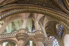 Церковь Сент-Этьен du mont, Париж, Франция Стоковая Фотография RF
