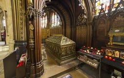 Церковь Сент-Этьен du mont, Париж, Франция Стоковые Фотографии RF