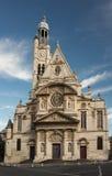 Церковь Сент-Этьен du Mont, Париж, Франция Стоковая Фотография