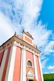 церковь сельская стоковое фото