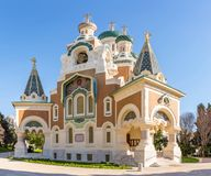 Церковь славная Франция ортодоксальности Стоковое Фото