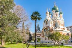 Церковь славная Франция ортодоксальности Стоковые Изображения