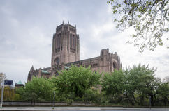 Церковь собора Англии, Ливерпуля Стоковая Фотография