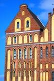 Церковь собора в Калининграде Стоковое Изображение