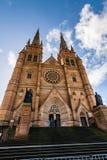 Церковь собора и небольшая базилика безукоризненной матери бога, помощи христиан, Сиднея стоковые фото