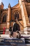 Церковь собора и небольшая базилика безукоризненной матери бога, помощи христиан, Сиднея стоковая фотография