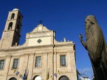 Церковь собора, Chania, Крит Стоковые Изображения