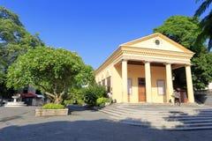 Церковь соединения в город острове gulangyu, xiamen, фарфор Стоковое фото RF