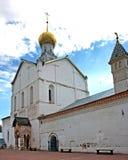 Церковь спасителя на крылечке в Ростове, России Стоковые Изображения