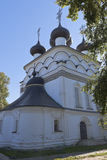 Церковь спасителя милостивого в городе зоны Belozersk Vologda Стоковые Изображения RF