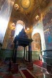 Церковь спасителя на крови, Санкт-Петербурга, России Стоковые Изображения RF