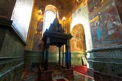 Церковь спасителя на крови, Санкт-Петербурга, России Стоковые Фотографии RF