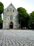 церковь средневековая Стоковые Изображения RF