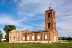 церковь старая Стоковое Изображение
