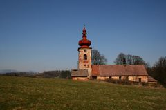 церковь старая Стоковое Фото