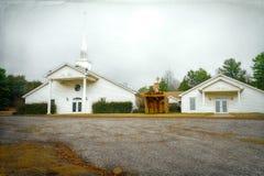 Церковь страны в Lamar, Арканзасе Стоковое Изображение RF