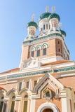 Церковь славная Франция ортодоксальности Стоковое фото RF