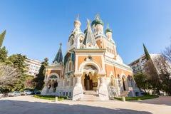 Церковь славная Франция ортодоксальности Стоковые Фотографии RF