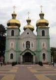 Церковь с золотой крышей стоковое изображение rf