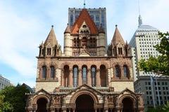 Церковь троицы Бостона, США Стоковые Фотографии RF