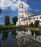 Церковь троицы в монастыре Druja бывшем Bernardine Стоковое Изображение RF