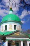Церковь троицы в Vorobyov, Москва Стоковое фото RF
