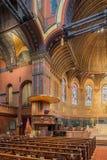 Церковь троицы, квадрат Copley, Бостон Стоковая Фотография