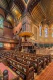 Церковь троицы, квадрат Copley, Бостон Стоковое Фото