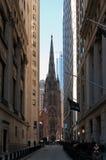 Церковь троицы NY стоковые фотографии rf
