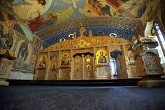 церковь украсила залу Стоковая Фотография