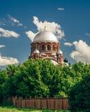 Церковь утехи Theotokos всех которые скорба стоковое фото