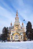 Церковь улицы стоковая фотография
