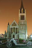 церковь фарфора Стоковая Фотография