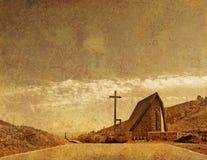 церковь фасонировала старую бесплатная иллюстрация