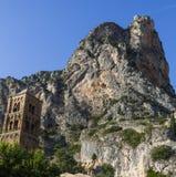 Церковь Франции - Провансали - Moustiers Sainte Мари стоковое изображение