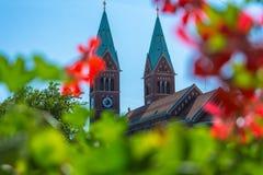 Церковь - францисканская церковь Стоковые Фотографии RF