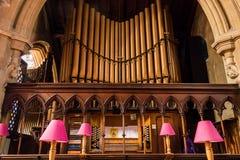 Церковь Христоса с органами St Mary Стоковые Изображения