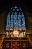 Церковь Христоса с углом алтара St Mary низким Стоковые Фото