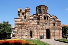 Церковь Христос Pantocrator, Nesebar стоковая фотография