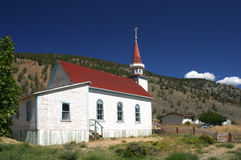 церковь цветастая Стоковое Изображение RF