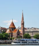 Церковь центра города Calvinistic Будапешта Стоковая Фотография