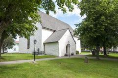 Церковь Швеция Oregrund Стоковое Фото