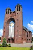 Церковь лютеранина креста Стоковое фото RF